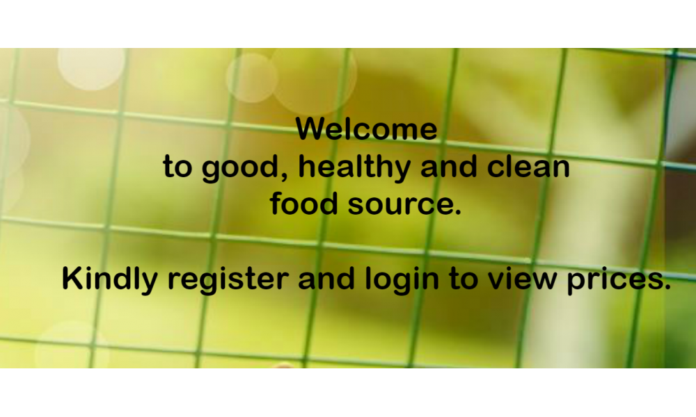 Welcome & Register