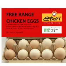 Etori Free Range Chicken Eggs